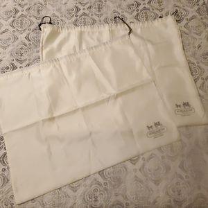Coach dust bags